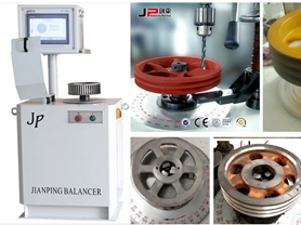 High Efficiency Pulley Balancing Machine