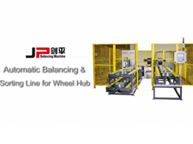 Automatic Balancing Machine Line For Automobile wheel Hub