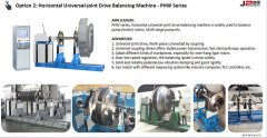 Flexible Solutions of Balancing Machine