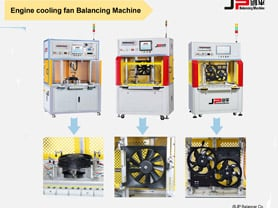 Engine Cooling Fan Balancing Machine