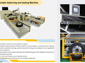 Tire Automatic Balancing and Testing Machine