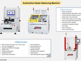 Automotive Fan Heater Balancing Machine