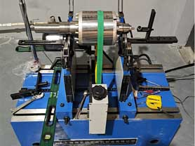 Squirrel Cage Motor Rotor Balancing Machine